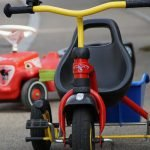 Bobby Car und Dreirad