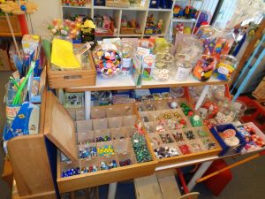 Murmeln + Kleinspielzeug