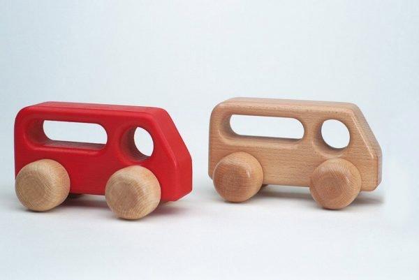 5560228-5560229 Bus natur und rot