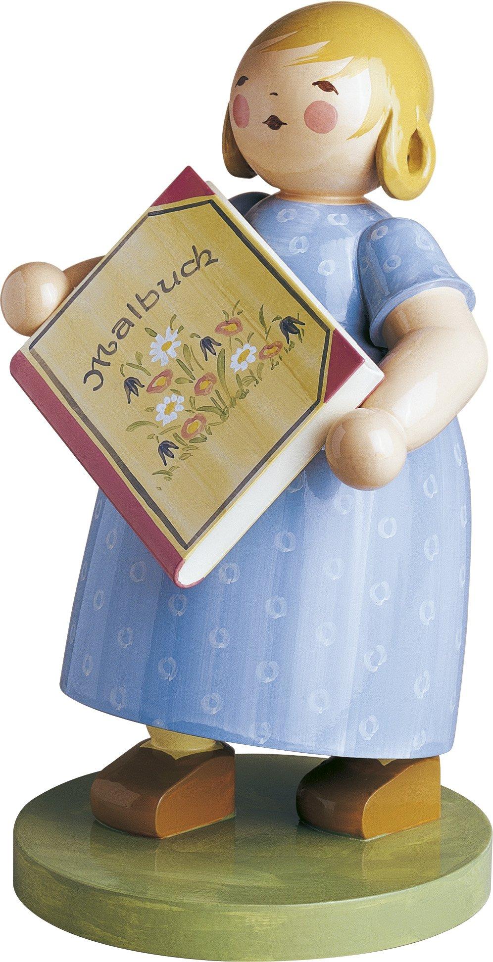 5417 Mädchen mit Malbuch von Wendt und Kühn
