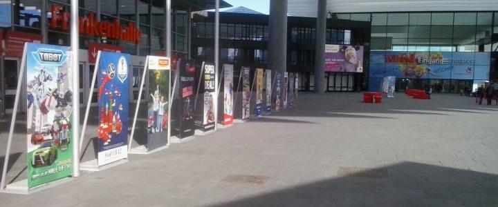 Foto Eingang Spielwarenmesse 2017