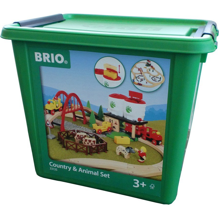 BRIO Country & Animal Set 33135
