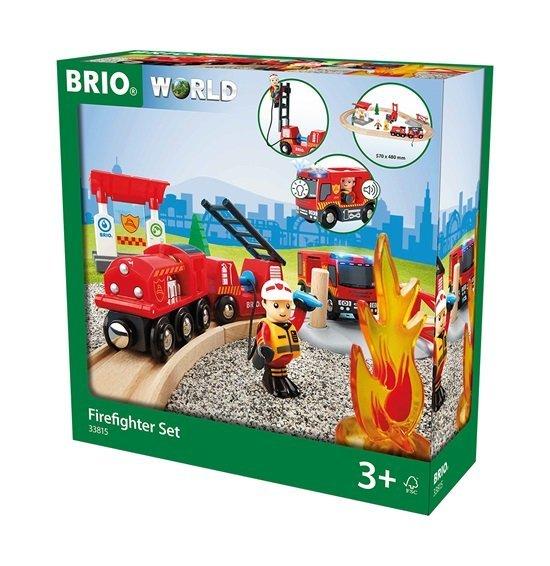 Brio Feuerwehrset 33815