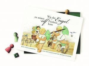 BS2017Brettspiel Wie der Engel zu seinen elf Punkten kam der Firma Wendt & Kühn