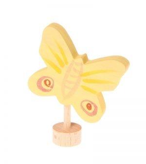 Stecker gelber Schmetterling