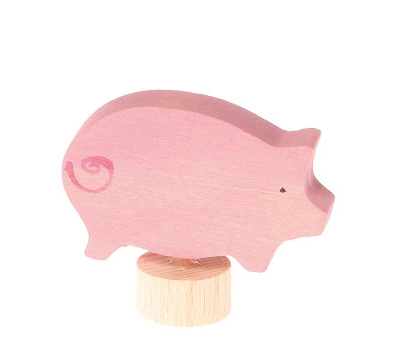 Stecker rosa Schwein
