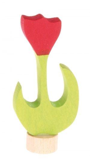 Stecker rote Tulpe