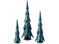 Tannenbäume, 3 Stück