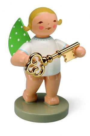 Goldedition Nr. 8, Schatzmeister, Engel mit Schlüssel, vergoldet