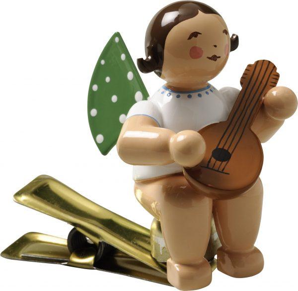 Engel mit Mandoline, auf Klemme