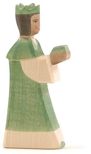König, grün