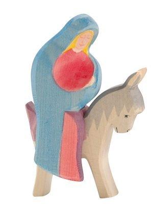 Esel für reitende Maria