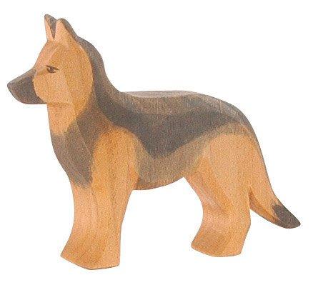 Schäferhund stehend