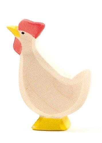 Huhn Weiß hoch
