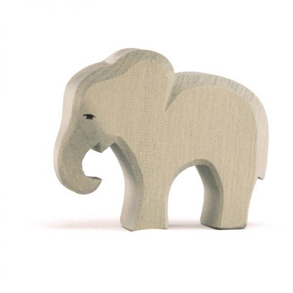 Elefant klein fressend