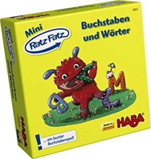 Mini Ratz Fatz Buchstaben