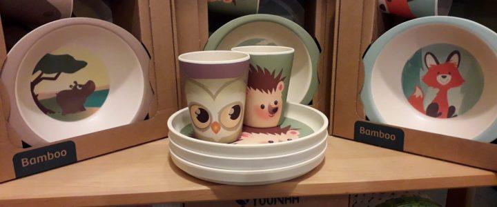 Jetzt neu in der Puppenstube: Bambus Geschirr für Kinder